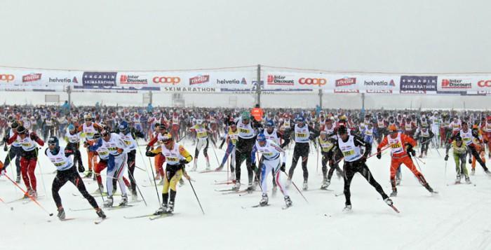 Start Engadin Skimarathon