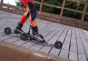 Bremsen mit Skirollern
