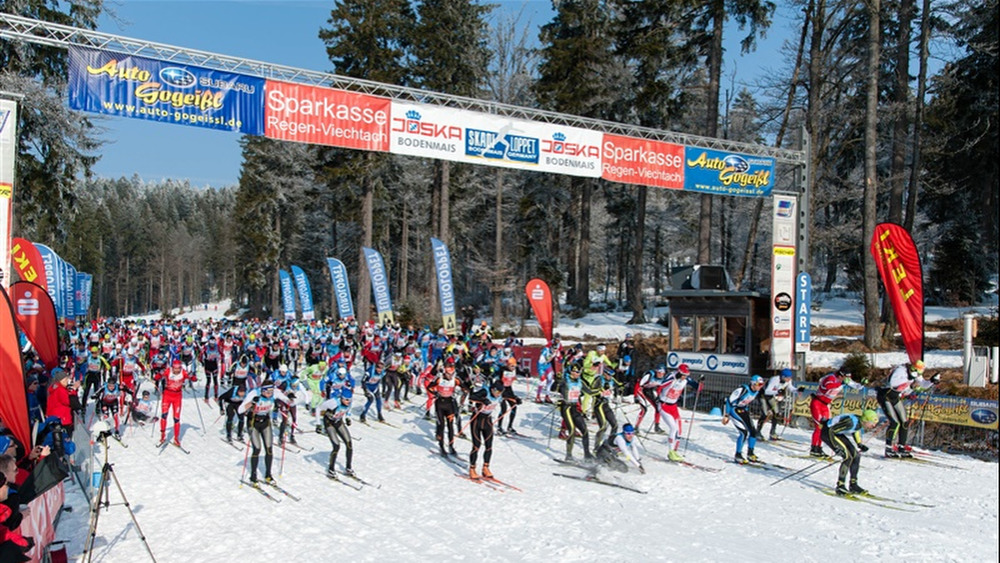 17.05.2015: Start zum internationalen Skadi Loppet