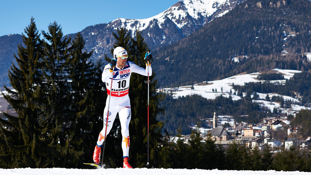 03.03.2013, Val di Fiemme, Italy (ITA): Johan Olsson (SWE) - FIS nordic world ski championships, cross-country, mass men, Val di Fiemme (ITA). www.nordicfocus.com. © Felgenhauer/NordicFocus. Every downloaded picture is fee-liable.
