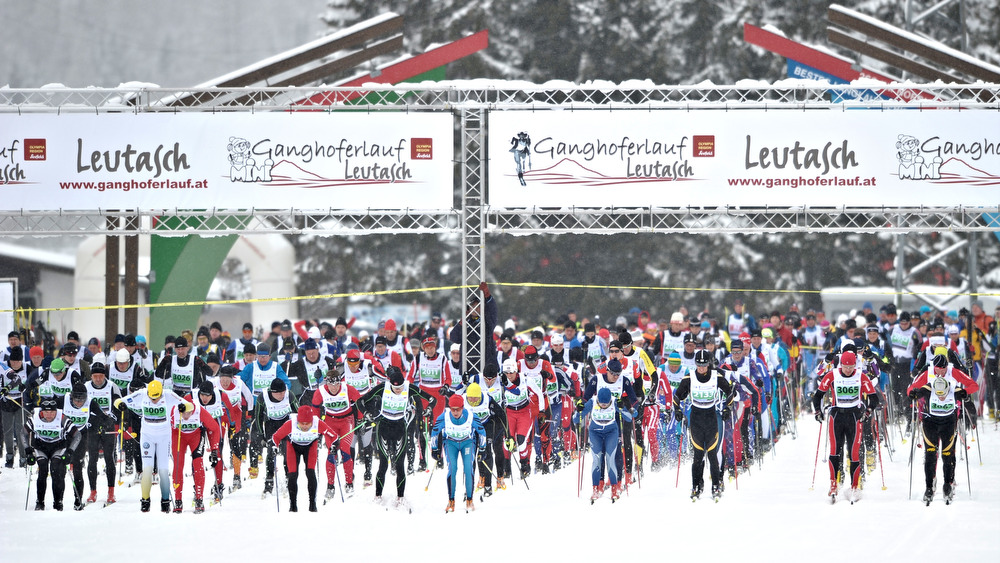 27.02.2011, Ganghoferlauf Leutasch, 50 km Classic, 42 km Skating, start classic race