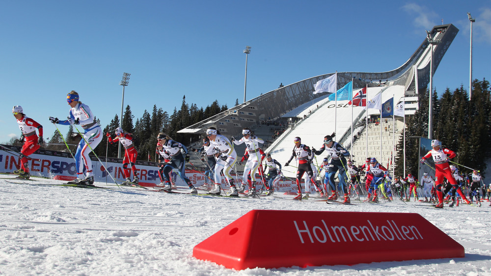 FIS nordic world ski championships, cross-country, mass women, Oslo (NOR)