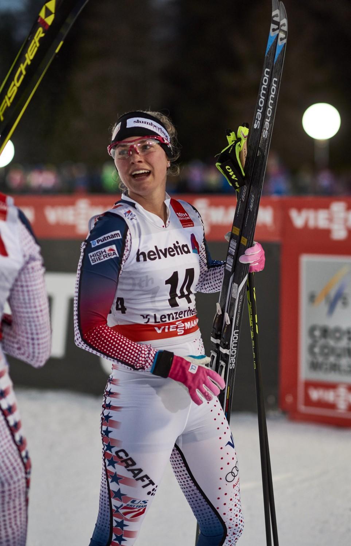 Jessica Diggins Tour De Ski