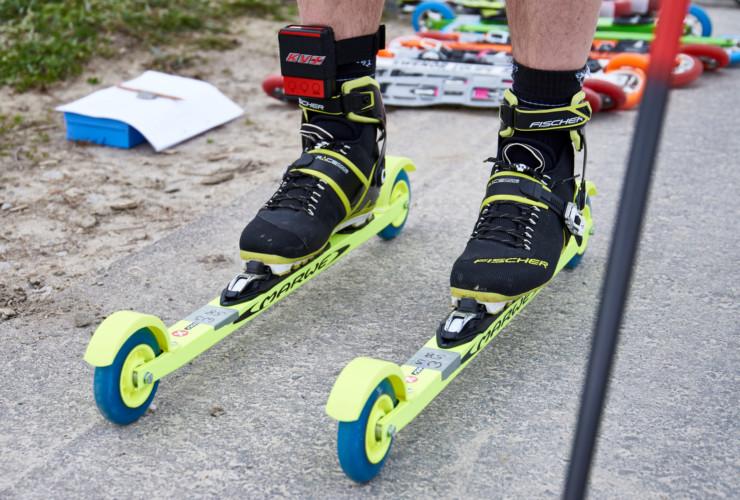 Marwe Racing Skate im Lichtschrankentest der Wettkampfroller