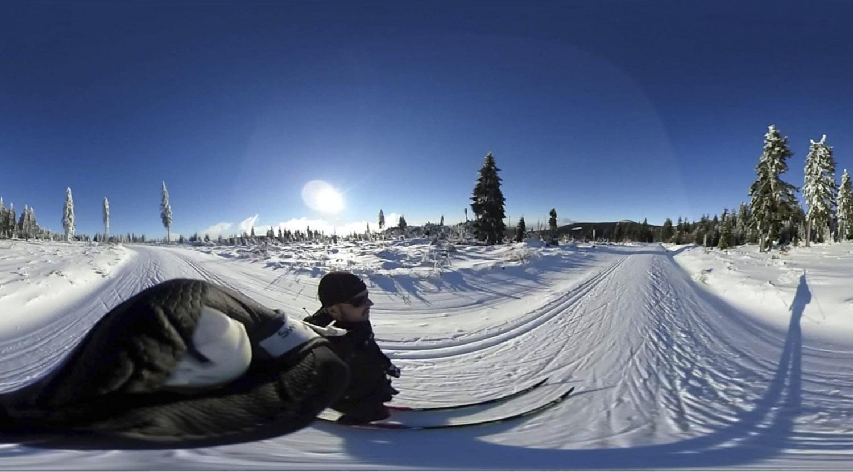 360 Grad Video Vom Bretterschachten Bodenmais Xc Ski De Langlauf