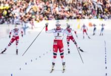 Nordische Ski-WM Lahti  Marit Bjørgen gewinnt im 30 Kilometer Massenstart  ihr 18. WM-Gold 5e8e8dde1e