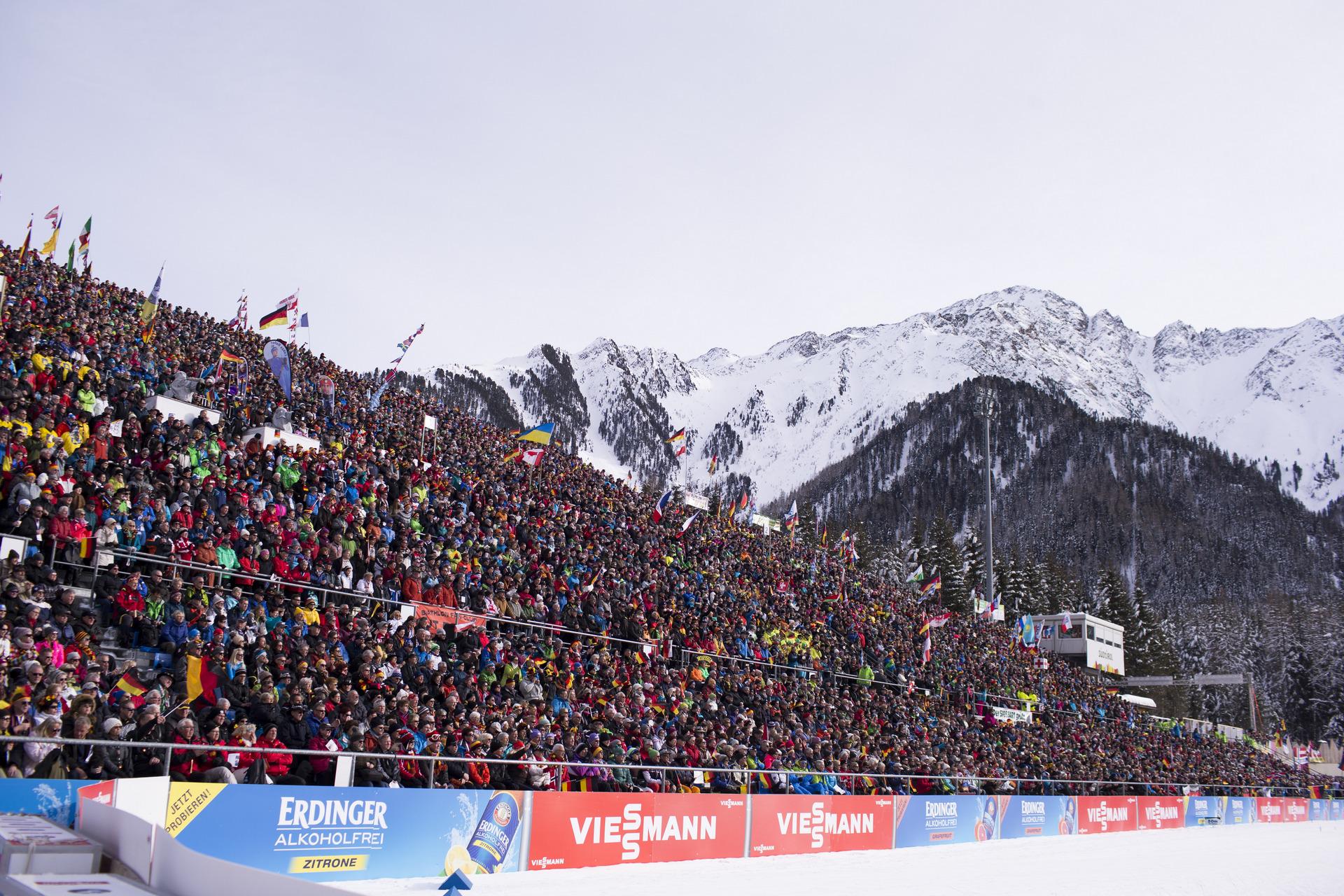 Ibu Biathlon Weltcup Antholz Italien Xc Skide
