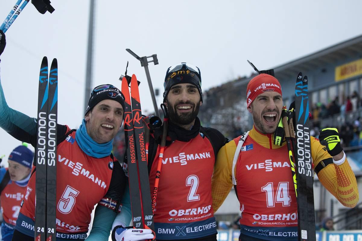Biathlon Weltcup Oberhof: Arnd Peiffer wird Zweiter im