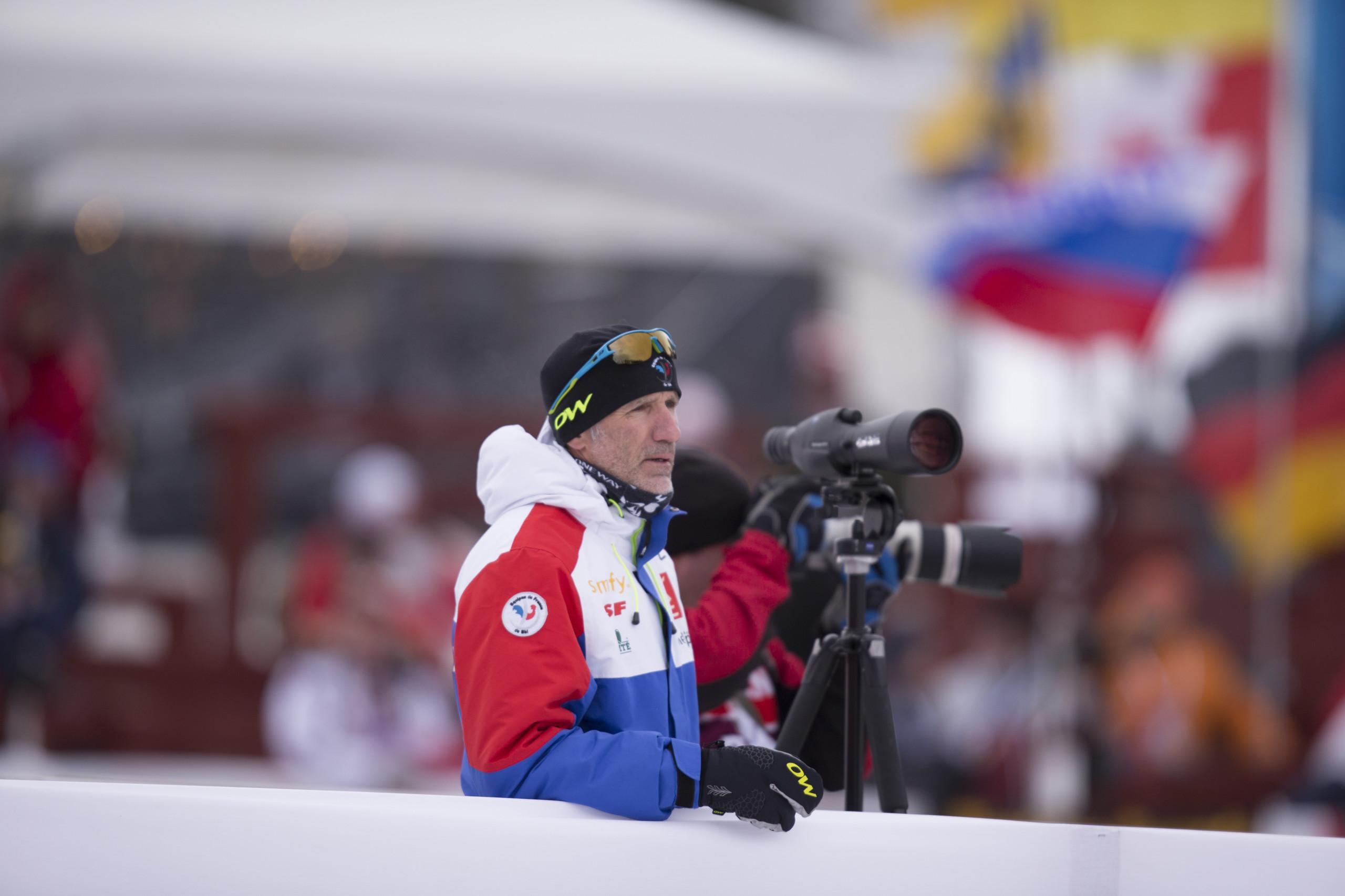 Finnischer Schießtrainer Biathlon