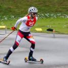 Annalena Slamik wird Zweite in Eisenerz.
