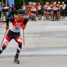 Lukas Greiderer beim Rennen in Eisenerz.