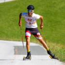 Lukas Greiderer siegt beim Bergrennen in Bischofshofen.