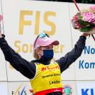 Die Norwegerin behauptet ihre Gesamtführung.