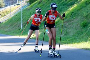 Jenny Nowak und Annika Sieff in Villach