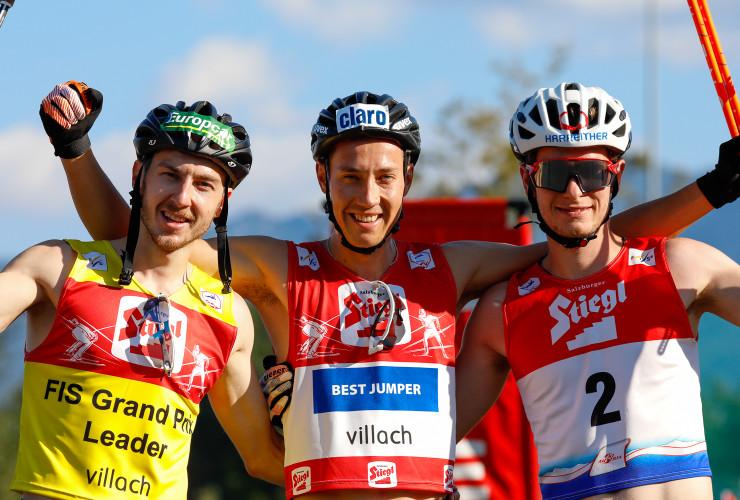 Die Tagessieger: Ilkka Herola (FIN), Mario Seidl (AUT), Martin Fritz (AUT).