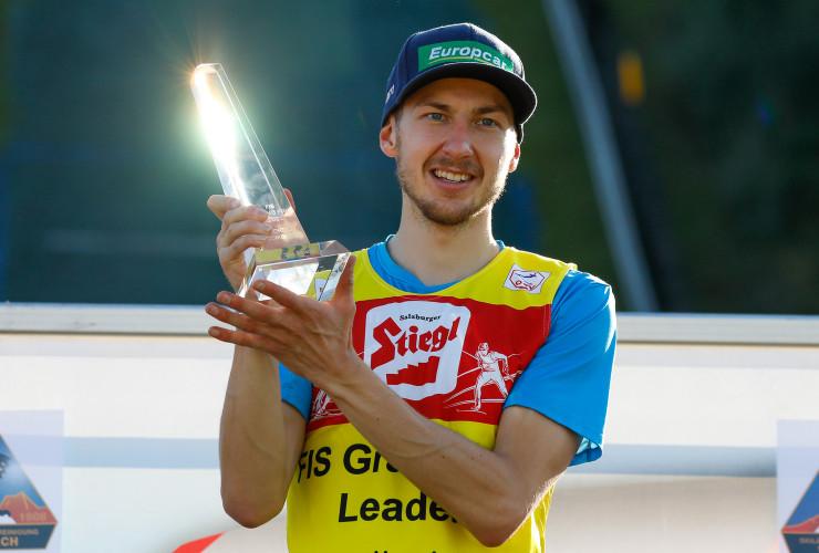 Ilkka Herola gewinnt erstmals eine Gesamtwertung des Sommer Grand Prix.