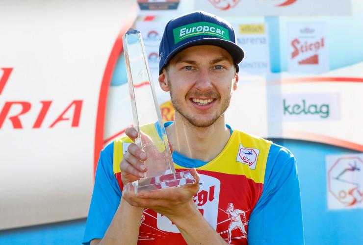 Erster finnischer Gesamtsieger seit 20 Jahren: Ilkka Herola.