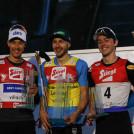 Das Podium: Mario Seidl, Ilkka Herola, Stefan Rettenegger.