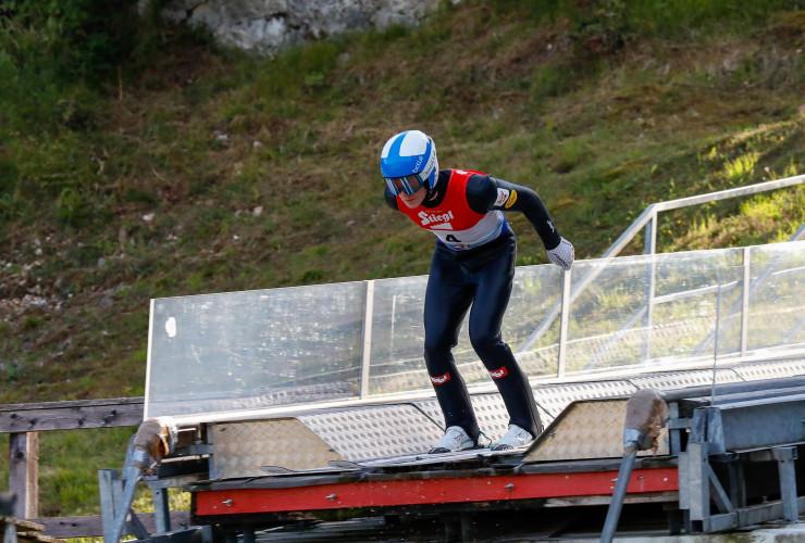 Thomas Rettenegger beim Sommer Grand Prix in Villach.
