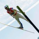 Mario Seidl führte nach dem Springen.