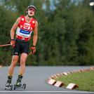 Mario Seidl wird beim Heimwettkampf Zweiter.