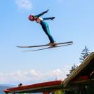 Annalena Slamik ist sehr zufrieden mit ihrer derzeitigen Sprungform.