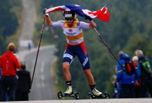 Gyda Westvold Hansen gewinnt mit deutlichem Vorsprung.