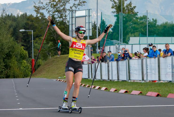 Vier Siege in vier Wettbewerben: Gyda Westvold Hansen ist derzeit das Maß der Dinge.