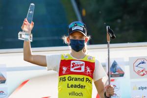 Gyda Westvold Hansen gewinnt die Gesamtwertung des Sommer Grand Prix.